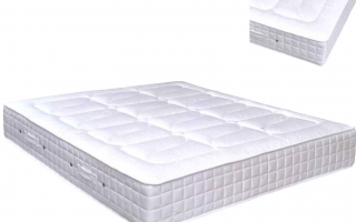 matelas simple ressorts ensach s latex como. Black Bedroom Furniture Sets. Home Design Ideas