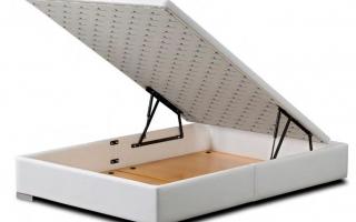 lit coffre relevable trim. Black Bedroom Furniture Sets. Home Design Ideas
