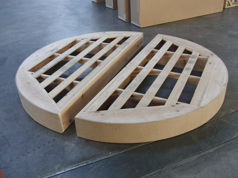 lit rond promo 215cm smart bed. Black Bedroom Furniture Sets. Home Design Ideas