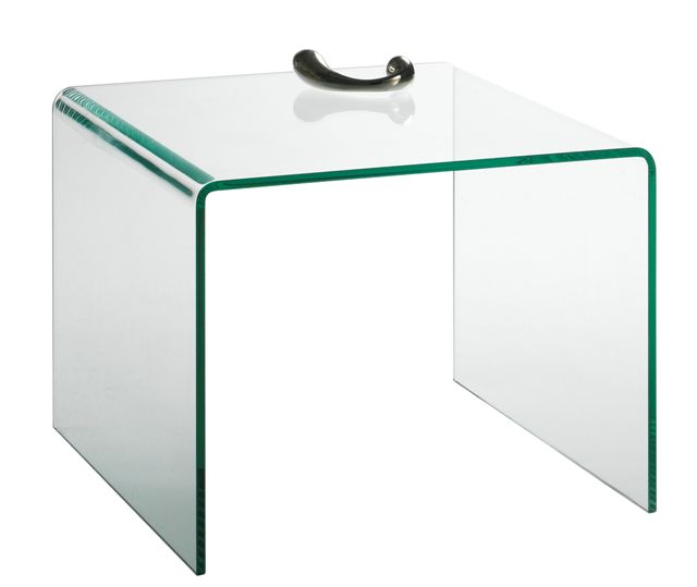 table d'appoint design en verre manhattan motard