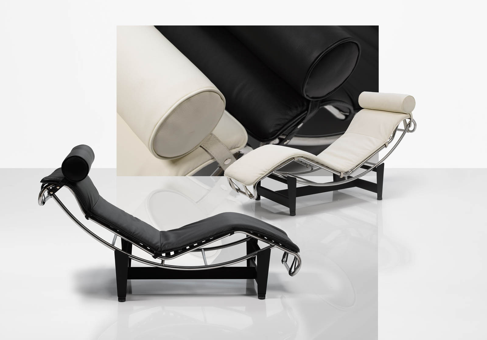 fauteuil le corbusier chaise longue lc4. Black Bedroom Furniture Sets. Home Design Ideas