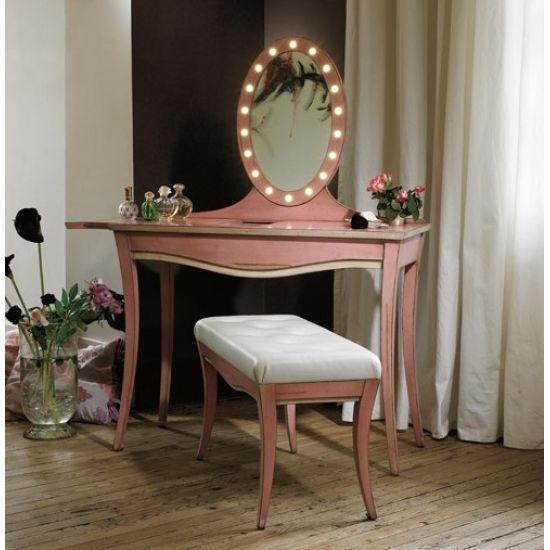 Meuble coiffeuse avec miroir la confidente des astres for Meuble coiffeuse avec miroir