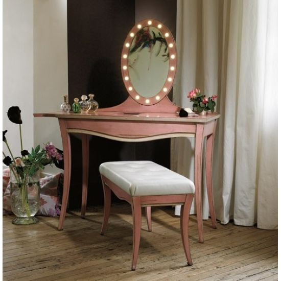 meuble coiffeuse avec miroir la confidente des astres