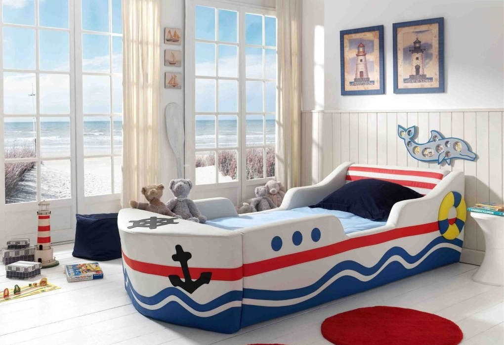 Lit Bateau Enfant Smart Bed