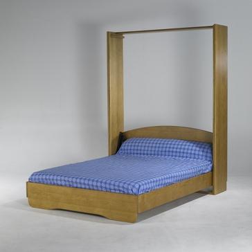 lit escamotable vertical en pin massif smart bed. Black Bedroom Furniture Sets. Home Design Ideas
