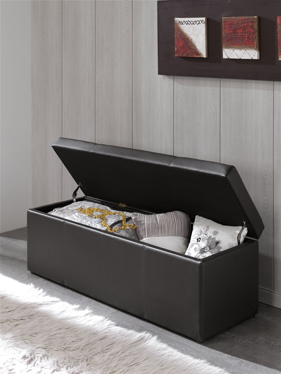 coffre de rangement pu dupen. Black Bedroom Furniture Sets. Home Design Ideas