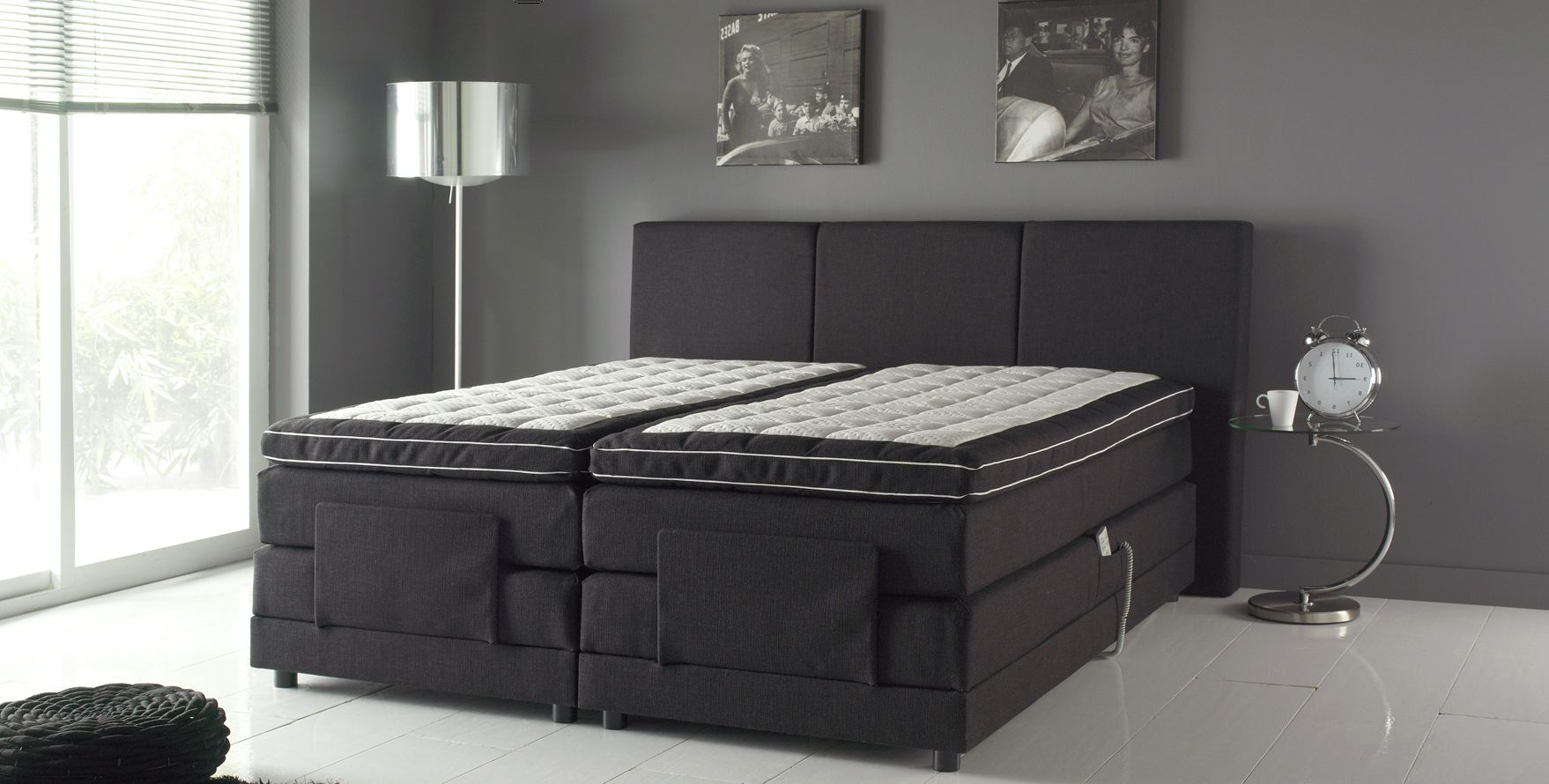 lit electrique. Black Bedroom Furniture Sets. Home Design Ideas