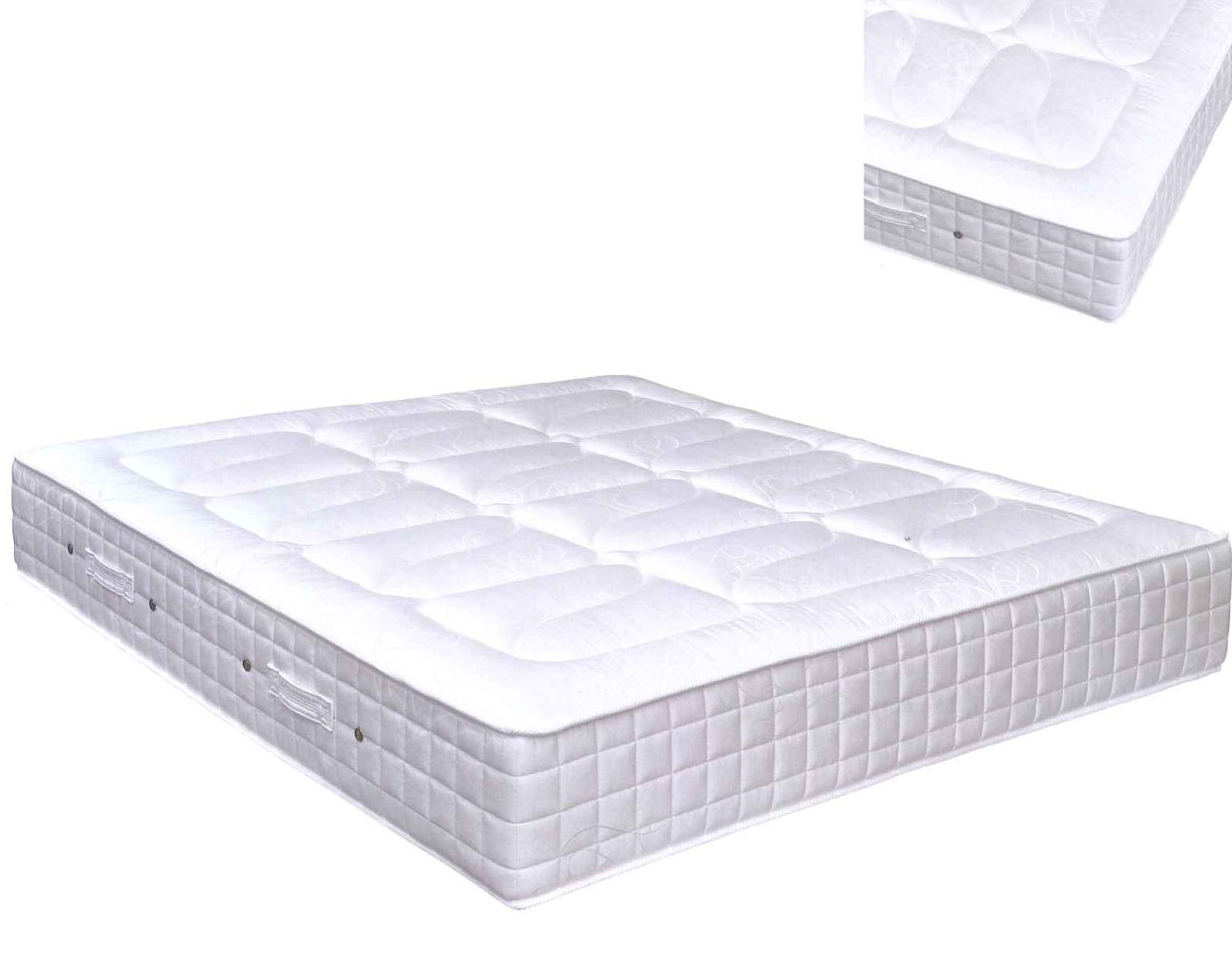 Matelas simple ressorts ensach s latex como - Matelas pirelli bedding ...