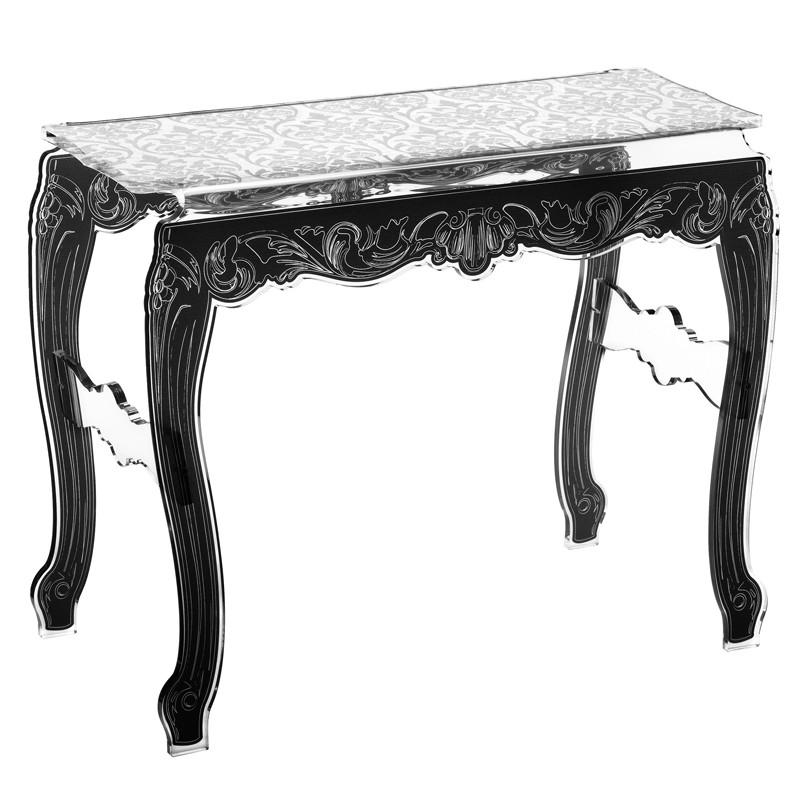 console design baroque acrila. Black Bedroom Furniture Sets. Home Design Ideas