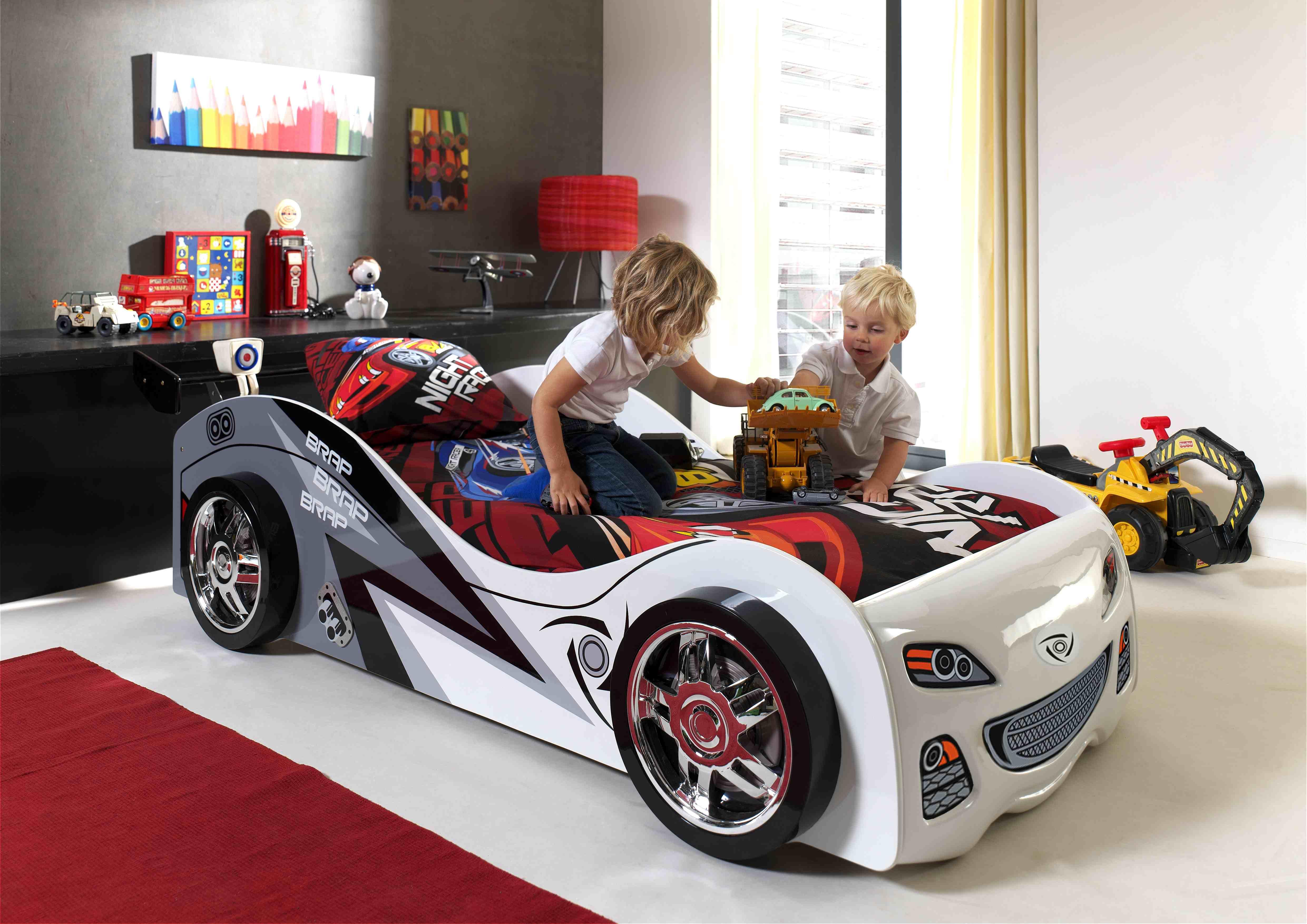 Lit enfant voiture brandon for Fauteuil enfant voiture