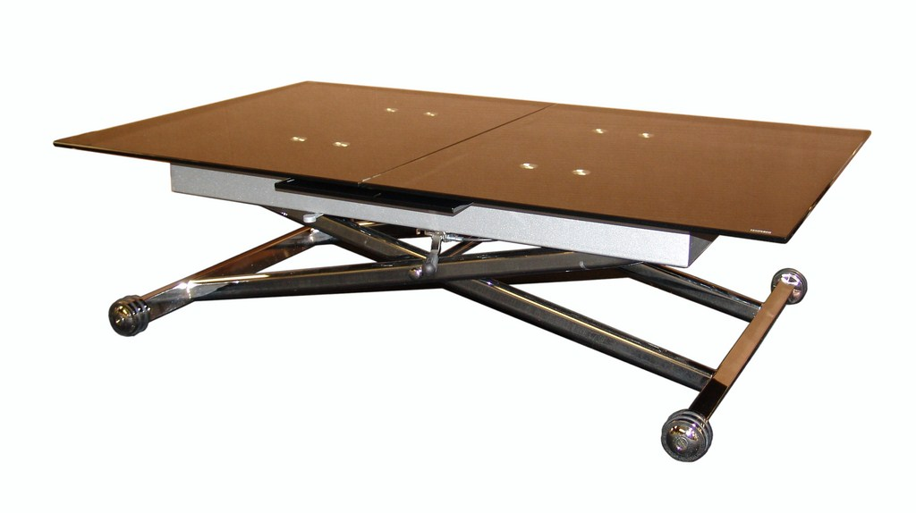 Table basse transformable up and down lisa - Table salon transformable ...