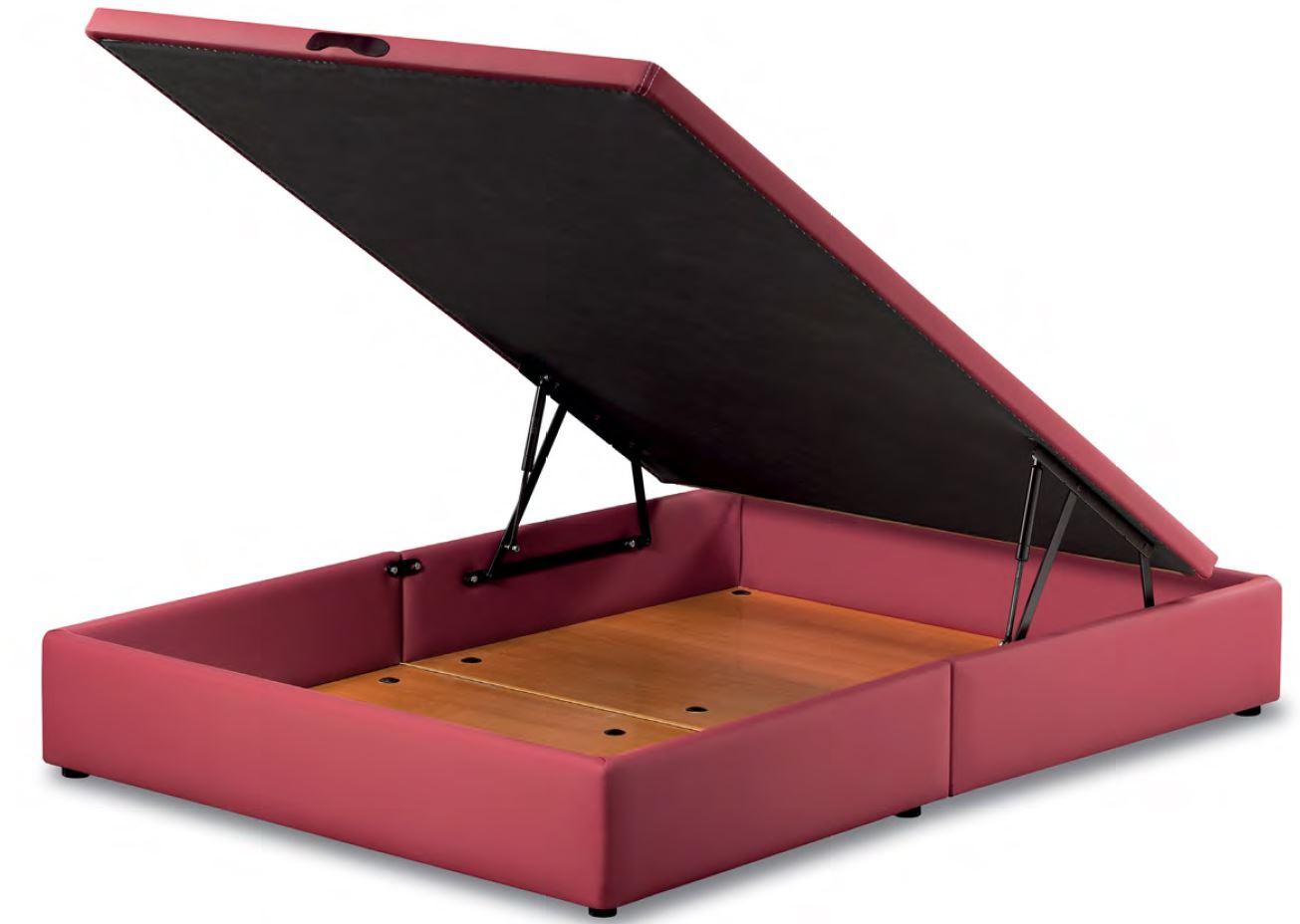 sommier coffre de rangement goya smart bed. Black Bedroom Furniture Sets. Home Design Ideas