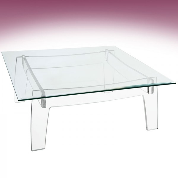 Table Basse Pliante Plexiglas