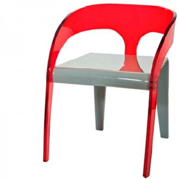 fauteuil dune en plexi. Black Bedroom Furniture Sets. Home Design Ideas