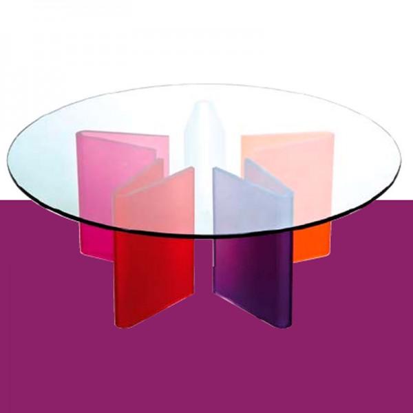 table basse stella multicolore. Black Bedroom Furniture Sets. Home Design Ideas