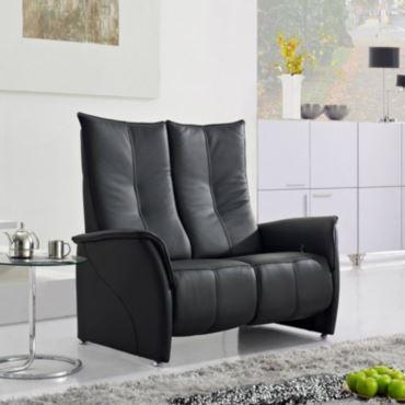 canap de relaxation manuel en cuir elite. Black Bedroom Furniture Sets. Home Design Ideas
