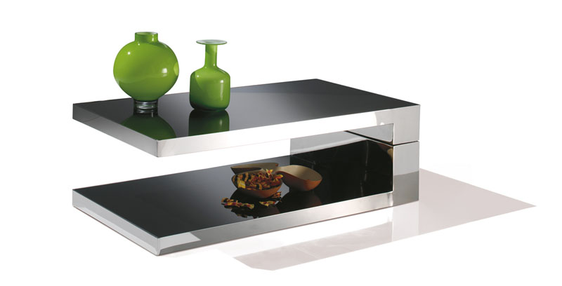 Table basse new york plateau pivotant motard - Table basse plateau pivotant ...