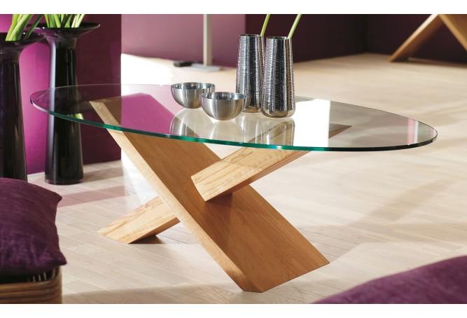 table basse ovale 40718 sydney motard. Black Bedroom Furniture Sets. Home Design Ideas
