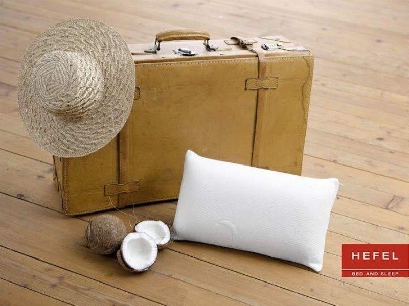 oreiller de voyage mousse m moire visco lastique hefel. Black Bedroom Furniture Sets. Home Design Ideas