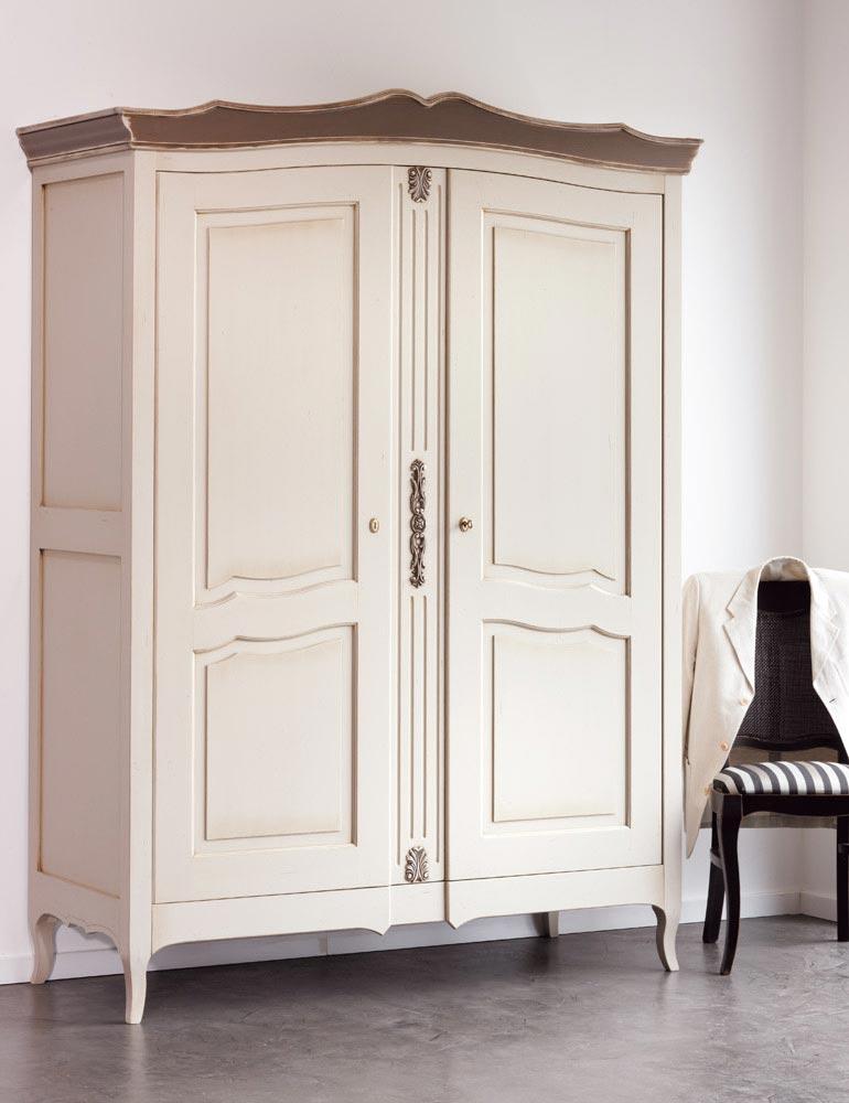 armoire 2 portes hysope demi ling re demi penderie. Black Bedroom Furniture Sets. Home Design Ideas