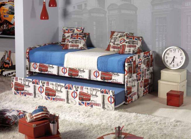 lit gigogne london pour ados. Black Bedroom Furniture Sets. Home Design Ideas