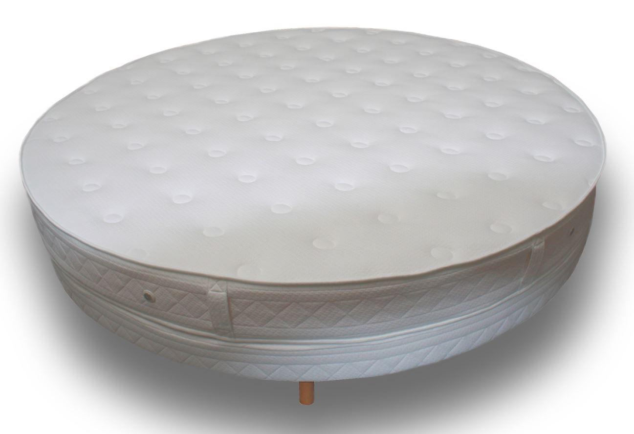 matelas rond pour lit su dois. Black Bedroom Furniture Sets. Home Design Ideas